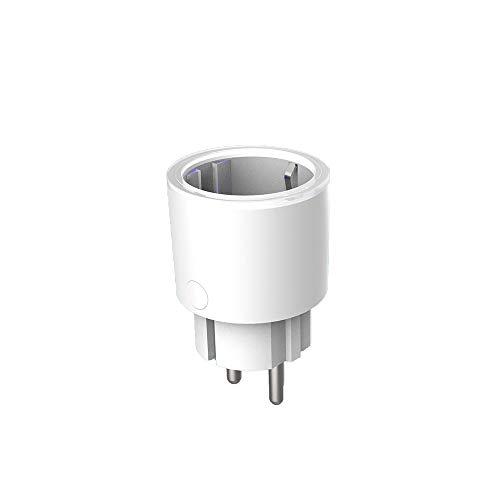 FairytaleMM Smart Plug Plug WiFi WiFi Socket Remoto Enchufe Mini TP22 Control de la UE WiFi zócalo para Amazon Voz Alexa zócalo ((TP22 UE))