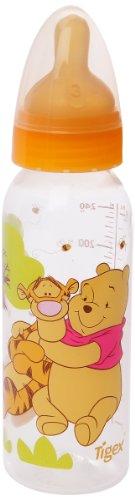 Tigex 101146aire control polipropileno látex tetina biberón Winnie the Pooh 240ml