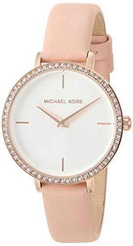 Michael Kors Women's Charley Three-Hand Rose Gold-Tone Alloy Watch MK2842