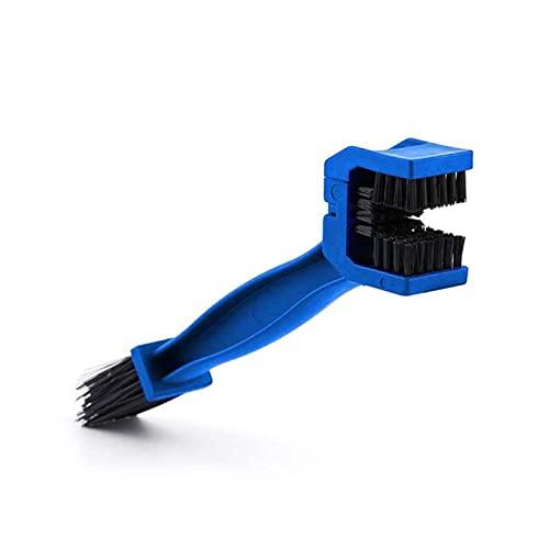 Xianggujie F Cadena de Bicicleta de la Motocicleta Cepillo Limpio GRANTE Grunge Brush Brush Tool (Color : Blue)