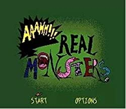 Value-Smart-Toys - AAAHH Real Monsters - 16 bit MD Games Cartridge For MegaDrive Genesis console