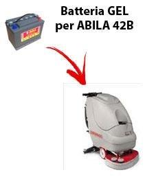 Batería para máquina fregadora Comac Abila 42B