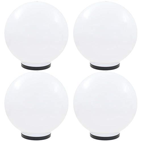 vidaXL 6x Solarlamp LED Zwart Tuin Verlichting Buiten Lamp Buitenlicht Lampen