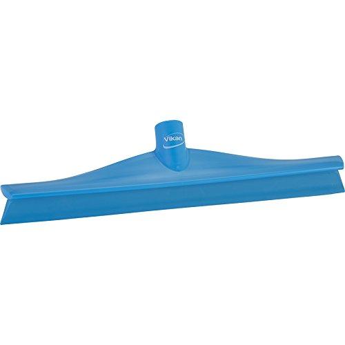 Vikan Gummi Reinigungsbürste Polypropylen Rahmen Single Blade Rakel, 16 Zoll, blau