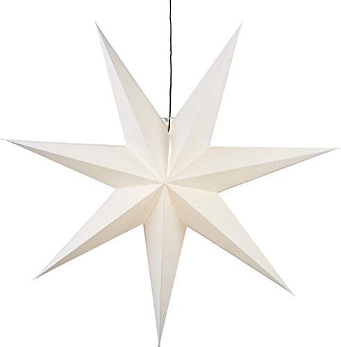 """Star Papierstern\""""Frozen\"""", ohne Lochung, weiss, E14, Papier,"""