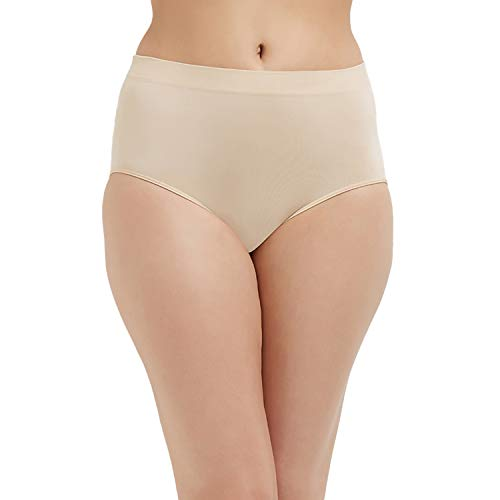 Wacoal womens B-smooth Panty briefs underwear, Sand, Large US