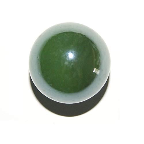 Les Colis Noirs LCN - Bille Perlé Vert 16mm 250g - Environ 50 Billes - Décoration Table Jeu - 44215