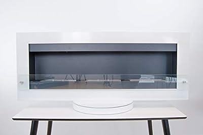 Black Steel Freestanding Bioethanol Fireplace with High Quality Burner| Freestanding Fireplace Heater