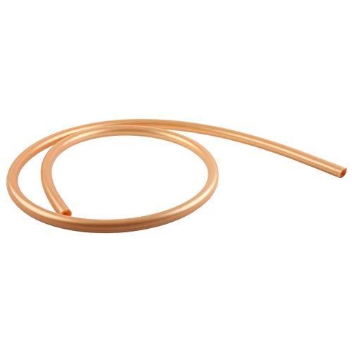 Aladin Silikon Shisha Schlauch 150 cm 1,5 m farbig Wasser Pfeife Hookah flexibel hochwertig, SILD, Farbe gold