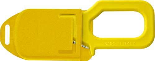 Made in Italia MAC Yellow - Rettungsmesser, Seil- und Gurtschneider Gelb