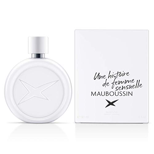 Mauboussin - Eau de Parfum - Parfüm für Frauen - Une Histoire De Femme Sensuelle - Blumen, Moschus und Gourmet - 90ml