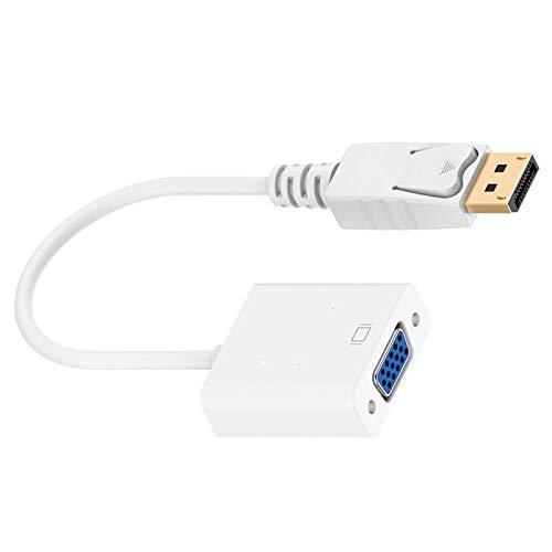 Jiudong Adaptador USB a VGA Adaptador USB 3 0 a VGA Convertidor de Vídeo Multipantalla para Proyectores de Ordenador Portátil HDTV Y Otros Dispositivos de Entrada