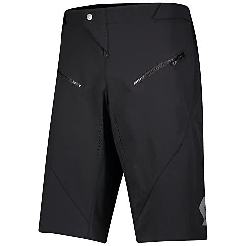 Scott Trail Progressive DH 2021 - Pantaloncini corti da ciclismo, colore: Nero, Uomo, Nero, XXL
