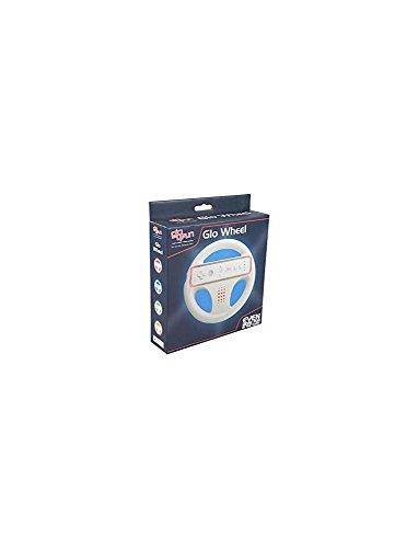 Wii - Glo Wheel - Rot [Importación alemana]