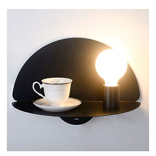 & wandlamp slaapkamer wandlamp wandlamp USB-stekker slaapkamer lamp modern minimalistische functie wandrek woonkamer studio lamp