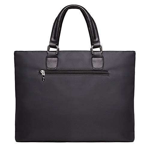 Men's Messenger Bag Laptop Bag Conferentie Aktetas mannen Oxford Draagbare Document Bag Office Opslag Canvas Uitbreidbare Grote Capaciteit Zakelijke Aktetas