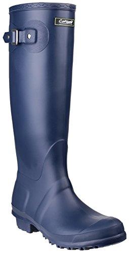 Cotswold Femmes Sandringham Bottes De Pluie en PVC À Enfiler Imperméables