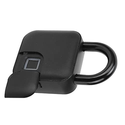 Gedourain Intelligentes Fingerabdruckschloss, Fingerabdruck-Vorhängeschloss schnell entsperren Keyless für Golftaschen für Handtasche für Koffer für Fahrrad for