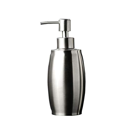Dispensador de Jabón 304 de acero inoxidable de la familia del hotel baño caja de jabón portátil desinfectante de manos champú champú gel de ducha botella vacía Dosificador de Líquido