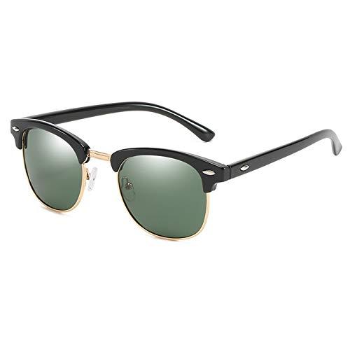 COCKE Polarizadas Gafas De Sol Mujer Hombre UV400 Protección para Viajes Conducir En Ropa Y Accesorios Súper Ligero Marco Gafas para La Pesca, El Golf, El Ciclismo,Verde