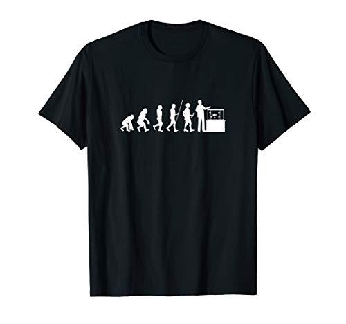 Funny Aquarist Aquarium Technologist Evolution Aquarium T-Shirt