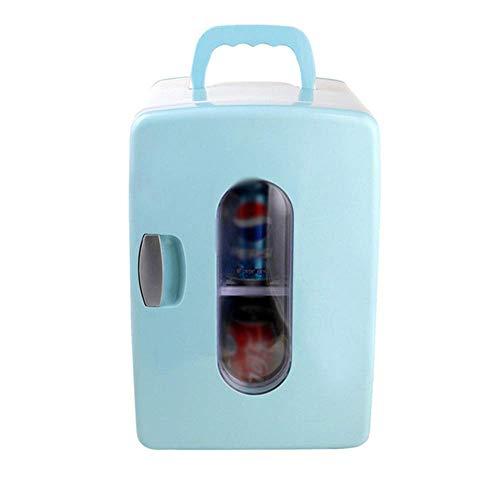 Refrigerador para automóvil, 12 l, enfriador y calentador para vehículos de doble voltaje, 12 v / 220 v-240 v, congelador portátil, apto para viajes, picnic, camping, para automóviles y camiones