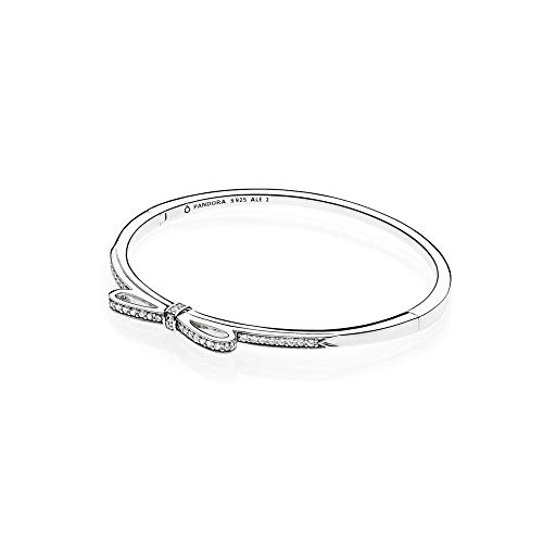 Pandora Schleife Damen Armreif 925 Sterlingsilber 17,5 cm