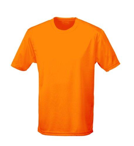T shirt AWDis à manches courtes cool pour homme - Orange - XX-Large