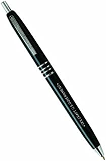 Skilcraft 7520-00-935-7136 U.S. Government Retractable Black Barrel Medium Point Ball Point Pen, Black Ink, (Pack of 12)