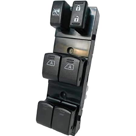 Drivers Auto Down Only SWITCHDOCTOR Window Master Switch for Nissan Altima 2007-2012