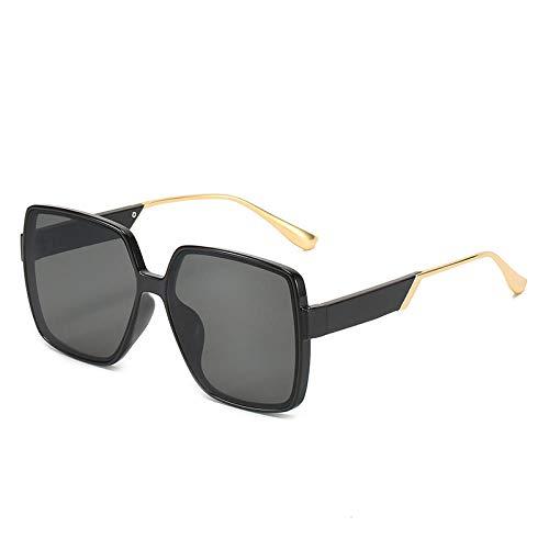 ZZZXX Gafas De Sol Retro Gafas De Pernera Cuadrada De Metal Marcos Vintage/Clásicos/Elegantes; Objetivos De Alta Definición; Golf/Conducción/Pesca/Deportes Al Aire Libre/Gafas De Sol De Moda
