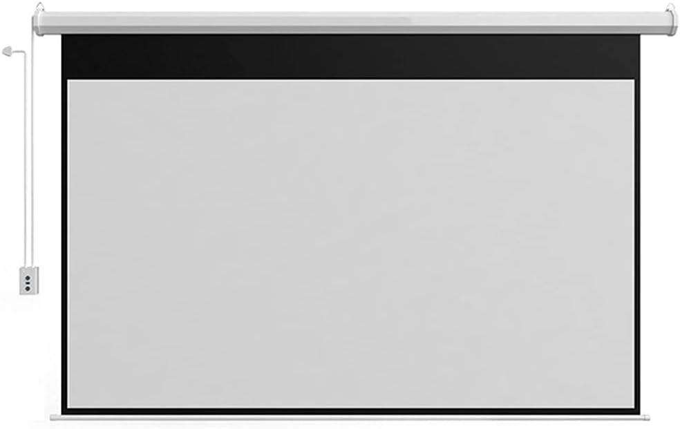 XJMF Auto Motorized Projector Screen 60
