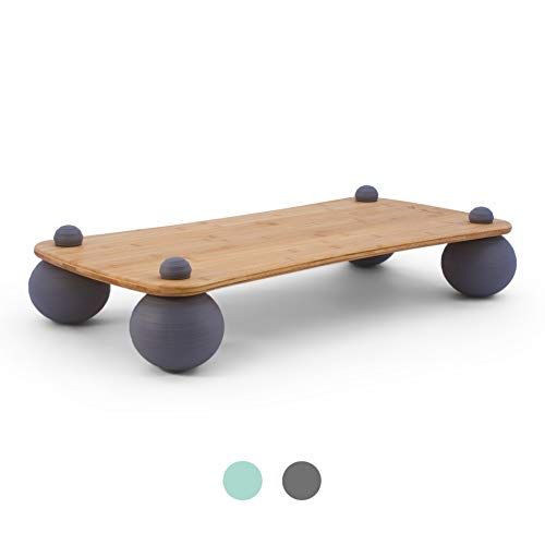 Pono Board  Core Activating Level Motion Balance Board for Standing Desks and Exercise  Urban Slate