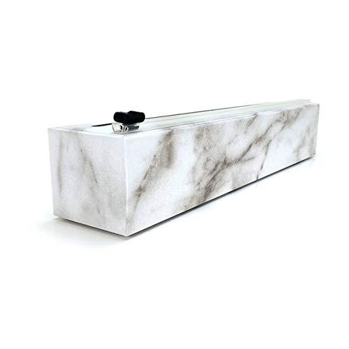ChicWrap Marble Refillable Plastic Wrap Dispenser