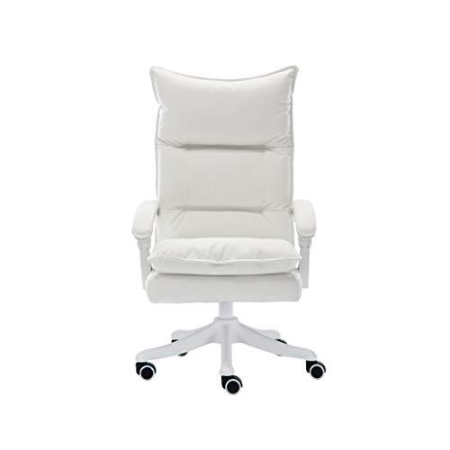KangJZ Mobiliario de Oficina Sillas Fácil de Limpiar PU Sillas, Durable fácil de Instalar sillas de Oficina Empresa Sala de reuniones Sillón sillas de Escritorio for el Dormitorio Sillas y taburetes