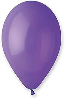 بالون لاتكس قياسي من جيمار 100 قطعة ، مقاس 12 بوصة ، بنفسجي