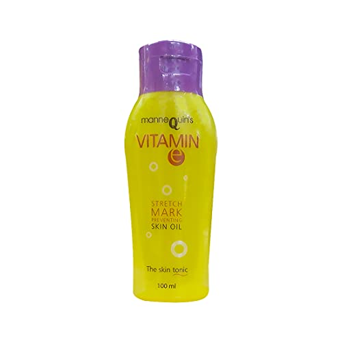 Mannequin Vitamin E Stretch Mark Preventing Skin Oil (100ml)