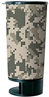 Digital Camo Spit Bud Portable Spittoon with Can Opener: The Ultimate Spill-Proof Spitter by Spitbud