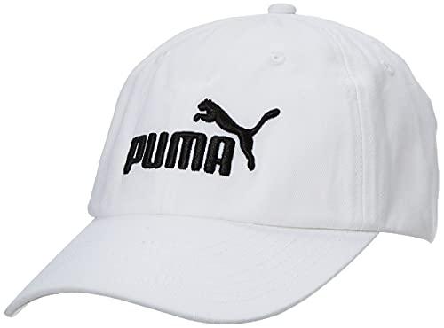PUMA Unisex, ESS Cap, White-No,1, Adult