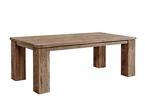 Tavolo da pranzo Rustica 220X110cm teak legno antico riciclato