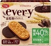 YBC エブリィ全粒粉ビスケット&チョコレート7枚x5箱