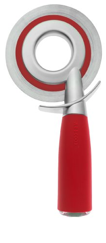 Art and Cook Pizza Wheelie Zinc Positive Collection, Red