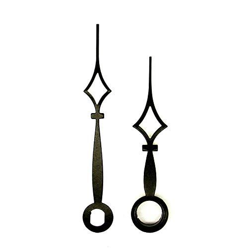 Nieuwe vervanging zwart kwarts UTS Hermle Kienzle Junghans Euroshaft metalen klok Handen (38mm zwart A)