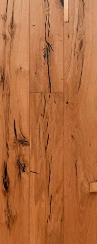 Parkett Eiche Rustikal Gebürstet- Landhausdiele 1-Stab natur-geölt mit Fase - 190 Rustic Vintage Oak Natural Oiled