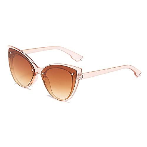 TYOLOMZ Gafas de Sol de Ojo de Gato para Mujer de Moda Gafas de Sol de Mujer Vintage Gafas de Sol para Mujer