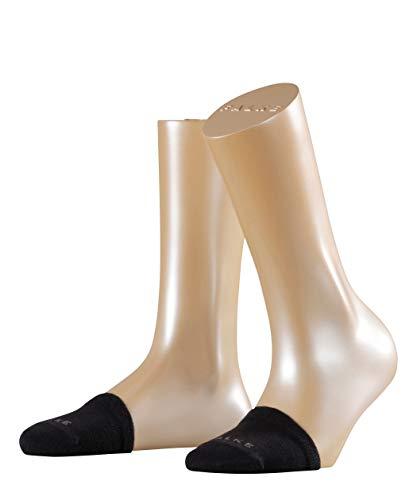 FALKE Damen Füßlinge Toe Sock - Baumwollmischung, 1 Paar, Schwarz (Black 3009), Größe: ONESIZE