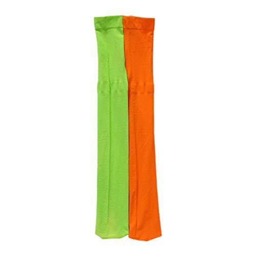 Qiuxiaoaa Chicas Leggings Doble Color Caramelo Cálido