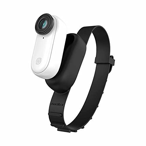 Zubehör Kompatibel mit Insta360 Go 2, Kamera Erweiterung Armband Silikon Schutzhülle Multifunktion Krawatte Verband Silikon Rucksack Fahrradriemen Verlängerung Zubehör (Schwarz)