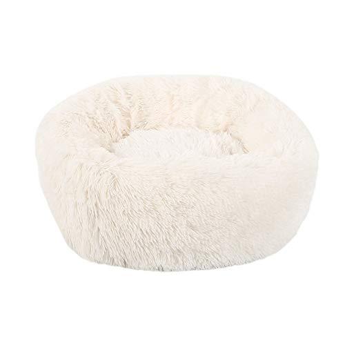 FENXIMEI zacht huisdier hond bed grijs winter warme slaapzak puppy hond katten kussen mat draagbare huisdieren benodigdheden, 60x20cm, roze