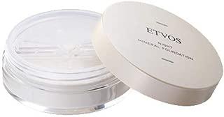 ETVOS(エトヴォス) ナイトミネラルファンデーション [化粧下地 フェイスパウダー 兼用] ツヤ肌 皮脂吸収 崩れ防止 つけたまま眠れる 夜用ファンデ 5g